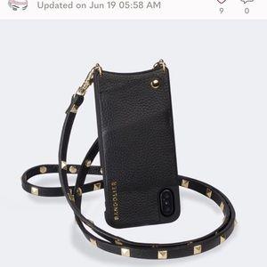 Bandolier Pyramid Studded Crossbody iPhone Case